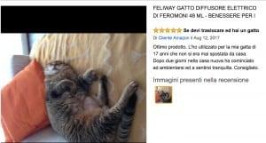 recensione diffusore feromoni per gatti